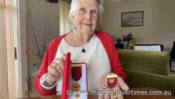 Wingham Red Cross member Veronica Hobson wins Outstanding Service Award - Manning River Times