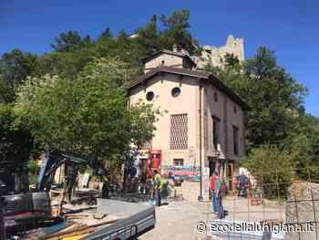 Appennino,Canossa e Villa Minozzo: una grande stele e un nuovo ponte sulla Via Matildica del Volto Santo - Eco Della Lunigiana