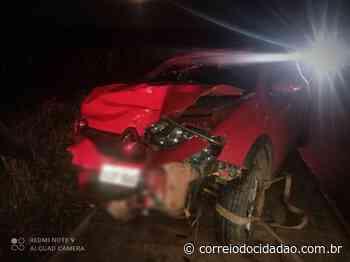 Acidente na PR 466 deixa motorista ferido, em Pitanga – Correio do Cidadão - Correio do CIdadão