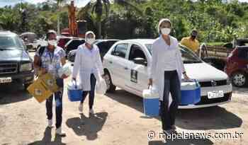 Quilombolas de Pitanga de Palmares são convocados Para 1ª e 2ª dose da vacina contra o Coronavírus; confira - http://mapelenews.com.br/