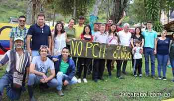 Cabildo abierto en Génova contra PCH y en defensa del agua y la vida - Caracol Radio