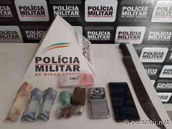 Homem é preso em flagrante, enquanto buscava droga no matagal em Paracatu - Notícias - paracatu.net