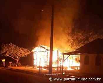 Idoso morre carbonizado no dia do aniversário, em Coari - Foto - Portal Tucumã