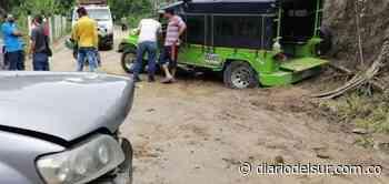 Choque de campero con camioneta dejó siete sujetos lesionados en San Bernardo - Diario del Sur