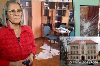 Einbrecher klauen Schule die Leih-Tablets, wüten im Lehrerzimmer - TAG24