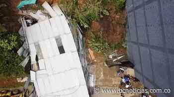 En Anserma una persona murió por desplome de una vivienda - BC Noticias