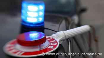 Lastwagen um 50 Prozent überladen: Polizei untersagt Weiterfahrt - Augsburger Allgemeine