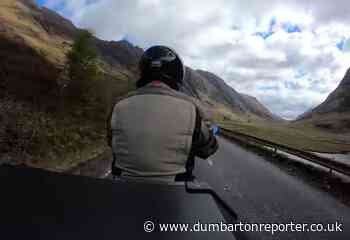 VIDEO: Motorbike time-lapse road trip from Glencoe to Dumbarton - The Dumbarton and Vale of Leven Reporter