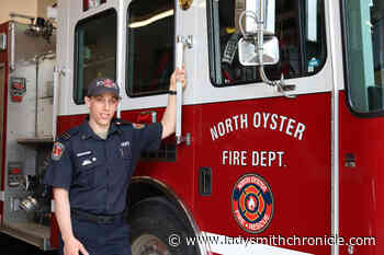 Long-time North Oyster fireman accepts deputy chief role with Sparwood Fire Department - Ladysmith Chronicle