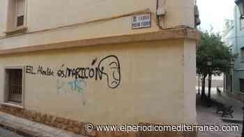 """Oleada de solidaridad con el alcalde de l'Alcora por la pintada homófoba que le llama """"maricón"""" - El Periódico Mediterráneo"""