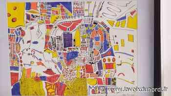 Les rêveries calligraphiques et colorées d'Augustin Théry, à Wambrechies - La Voix du Nord