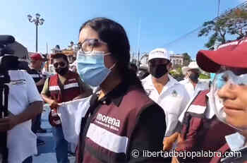 """Thelma Yurico Hernández, candidata de Morena en Misantla; le dicen """"La muda"""", porque no contesta preguntas, ni muestra su credencial de elector - Libertadbajopalabra.com"""