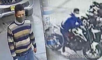 Motociclistas se unen para atrapar a un ladrón en Santa Anita | Panamericana TV - Panamericana Televisión