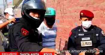 Santa Anita: Policía capturó a un hombre que llevaba marihuana escondida en una caja de mascarillas - América Televisión