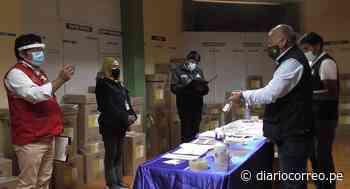 Verifican material electoral para segunda vuelta en Sandia y Putina - Diario Correo