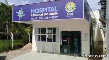 Ocupação dos leitos de UTI em Cruzeiro do Sul é 50% - ac24horas.com