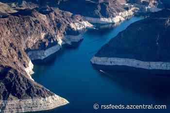 Aerials of Lake Mead, Colorado River