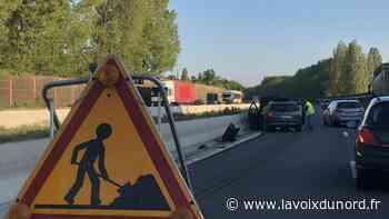 Roncq: un automobiliste blessé dans un accident sur l'A22 - La Voix du Nord
