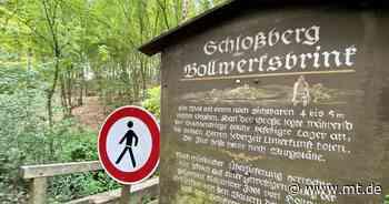 Raubritterburg ist unerreichbar: Fußgängerbrücke ist marode und muss saniert werden - Mindener Tageblatt