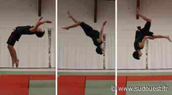 Hendaye : un élève de l'école d'acrobatie arts du cirque au firmament - Sud Ouest