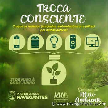 Navegantes inicia a programação da Semana do Meio Ambiente nesta segunda-feira (31) - Prefeitura de Navegantes