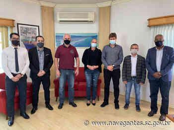 Molhe de Navegantes e desestatização de Porto de Itajaí são pautas com entidades itajaienses - Prefeitura de Navegantes