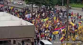 Paro nacional en Colombia: Jornada violenta en Cali, Popayán, Madrid y Facatativá - Colombia.com