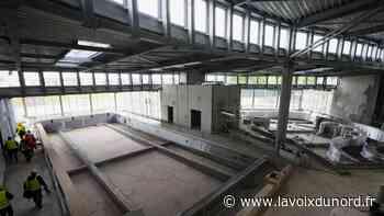 Carvin : plongée dans le chantier du centre aquatique, qui ouvrira début 2022 - La Voix du Nord