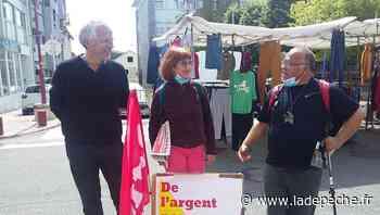 Lannemezan. Lutte Ouvrière en campagne sur le marché pour les élections départementales en Haute-Garonne - ladepeche.fr