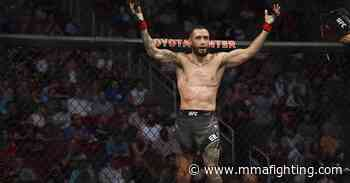 Shane Burgos recounts bizarre ending to UFC 262 fight with Edson Barboza: 'It slowly all shut off' - MMA Fighting