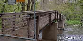 Rhein-Sieg: Auch die Holzbrücke in Lohmar wird abgerissen - Kölner Stadt-Anzeiger