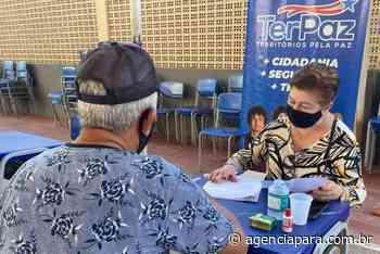 Moradores de Belém e Ananindeua recebem ação de registro do TerPaz - Para