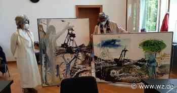 Grevenbroich: Künstler wegen Tagebau-Aktion vor Gericht - Westdeutsche Zeitung