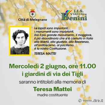Melegnano, grazie all'istituto Benini nascono i giardini Teresa Mattei - DIRE.it - Dire