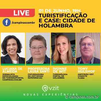 """""""Turistificação e o case: Holambra"""" é o tema da próxima live na série: """"Retomada do Turismo"""" - Campinas.com.br"""