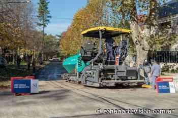 Nuevas cuadras de asfalto en las Lomas de San Isidro - Zona Norte Visión