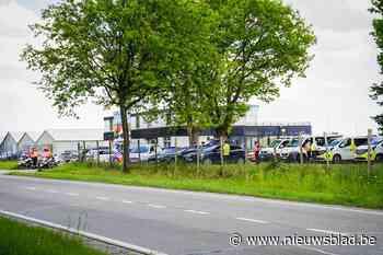 Grote politiecontrole op Kamperbaan tussen Leopoldsburg en Hechtel