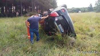 Motorista capota veículo na PR-272, entre Faxinal e Mauá da Serra, e acaba preso; Entenda - CGN