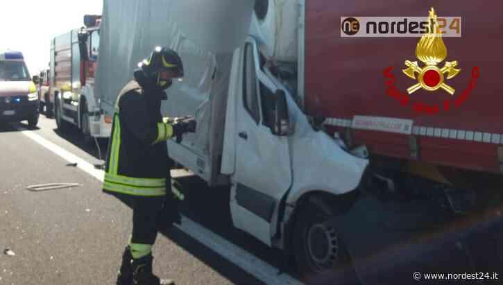 Incidente in A4 tra San Stino e Portogruaro: autista deceduto sul colpo - Nordest24.it