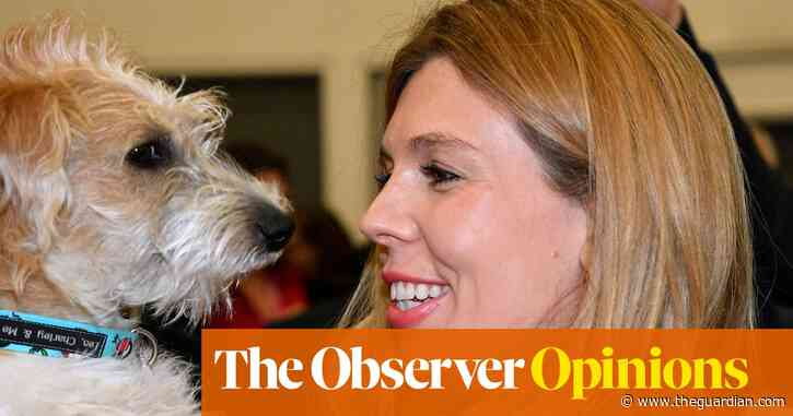 Of course Carrie Symonds loves Dilyn, so why mock her for that? | Barbara Ellen