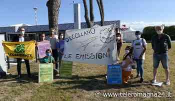 FORLI': Le associazioni ambientaliste contro l'inquinamento del trasporto Aereo   VIDEO - Teleromagna24