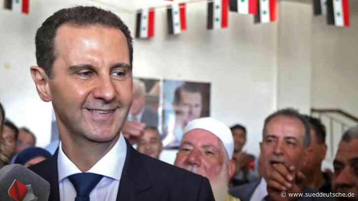 Syrien: Baschar al-Assad siegt mit 95,1 Prozent - Süddeutsche Zeitung - SZ.de