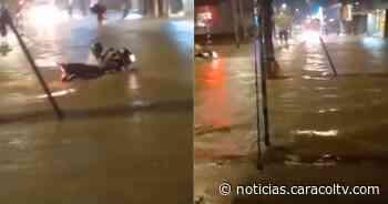 Impresionantes inundaciones en Turbo por el desbordamiento de varios ríos - Noticias Caracol