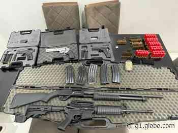PF aprende armamento de uso exclusivo das Forças Armadas em Itaituba, no Pará - G1