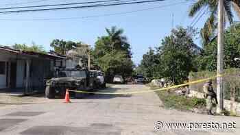 Autoridades realizan cateo en presunta 'narco casa' en Felipe Carrillo Puerto - PorEsto