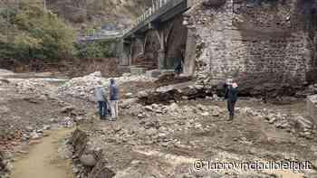 Ripristinata la transitabilità sul ponte di Crevacuore in località ex cartiera - La Provincia di Biella