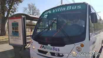 Transporte en Carlos Paz: Así funciona Villa Bus durante el confinamiento - Carlos Paz Vivo!