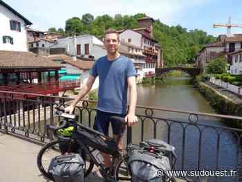 Du Nord à Saint-Jean-Pied-de-Port, il parcourt 1 700 km à vélo pour les enfants malades - Sud Ouest