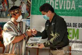 Vraem: más de 500 familias asháninkas de Mazamari apuestan por cultivos lícitos - Agencia Andina