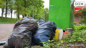 Ärger an der Elbe: In Boizenburg ist Müll häufig ein Problem   svz.de - svz – Schweriner Volkszeitung